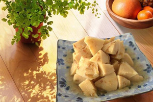 Seasoned bamboo shoots